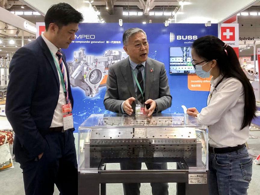 Visitors at Chinaplas 2021