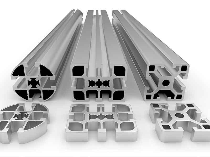 Aluminiumträger für Gebäude werden aus Aluminium mit Anodenpaste nagefertigt. Anodenpaste lässt sich am besten mit dem BUSS Compoundier-System KX herstellen.