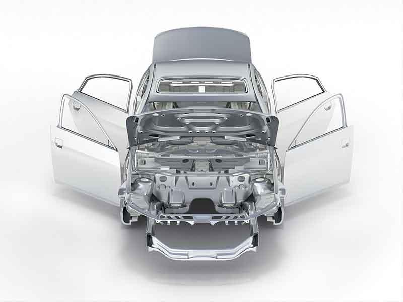 Системы компаундирования BUSS используются для изготовления анодной пасты, которая является основой для изготовления всех алюминиевых деталей для автомобилей.