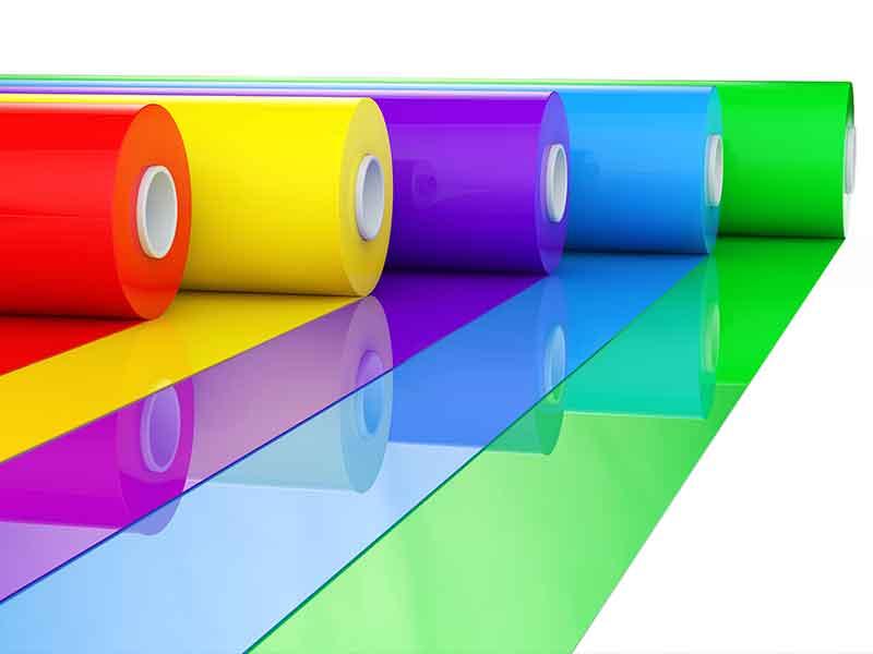 Las alimentaciones por calandra son la base para la producción de láminas calandradas.