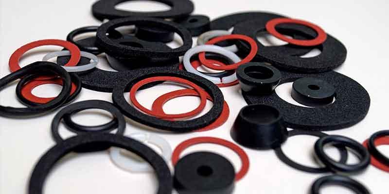 Juntas tóricas negras, rojas y blancas de elastómeros termoplásticos TPE