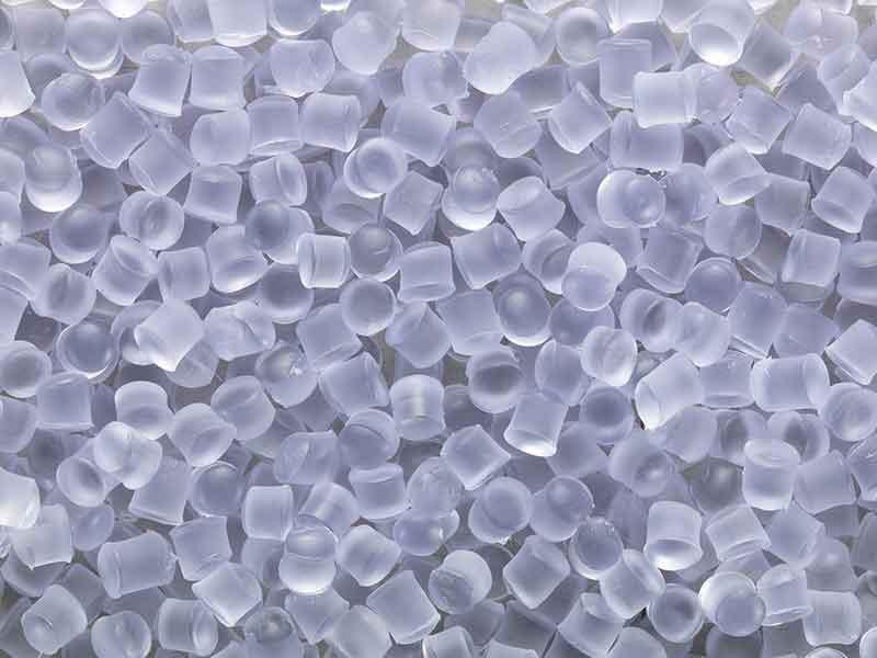 軟質塩ビ混練システムによる薄紫色顆粒